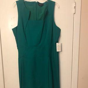 Green Eloquii dress